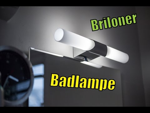 Briloner Badleuchte, Spiegelleuchte, Badlampe, 2xE14/40W, chrom