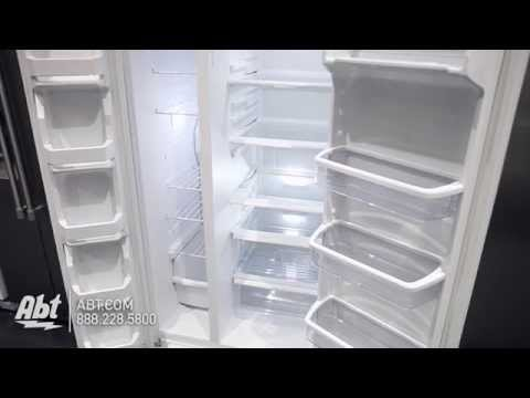Whirlpool White Side-By-Side Refrigerator WRS322FNAH - Overview