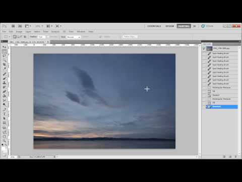 Use Content-Aware Spot Healing In Photoshop CS5 To Remove Photo Problems