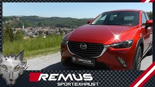 Video: Remus Auspuffanlage am Mazda CX-3 2.0l