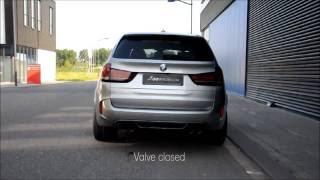 Eisennmann Bmw X5m Sport Exhaust Valve Open Take Off (1 45