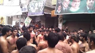 preview picture of video '9 muharam 2014 Matamdari Sungat Dasta Panjtanpak Sialkot'