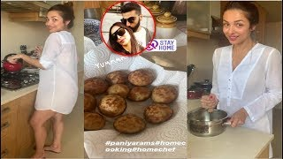Malaika Arora Turns Chef For Future Husband Arjun Kapoor Cooks Paniyaram In Kerala Style
