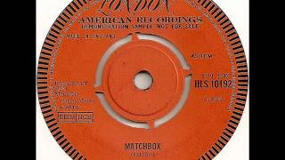 Carl Perkins - Matchbox (1957)