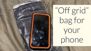 DIY Faraday Phone Bag [Prep 365: EP105]