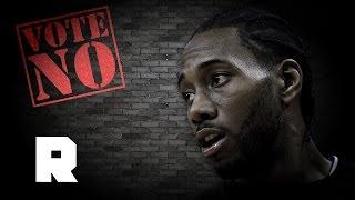 Vote No on Kawhi Leonard   2017 NBA MVP Attack Ads   The Ringer