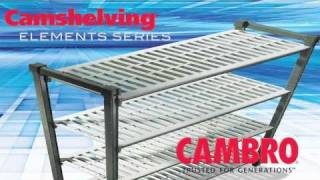 Cambro Camshelving Elements Weight Bearing Video