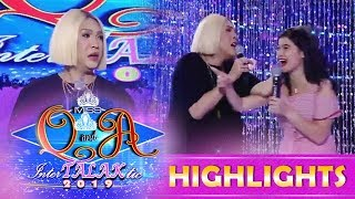 It's Showtime Miss Q and A: Vice pinches Anne