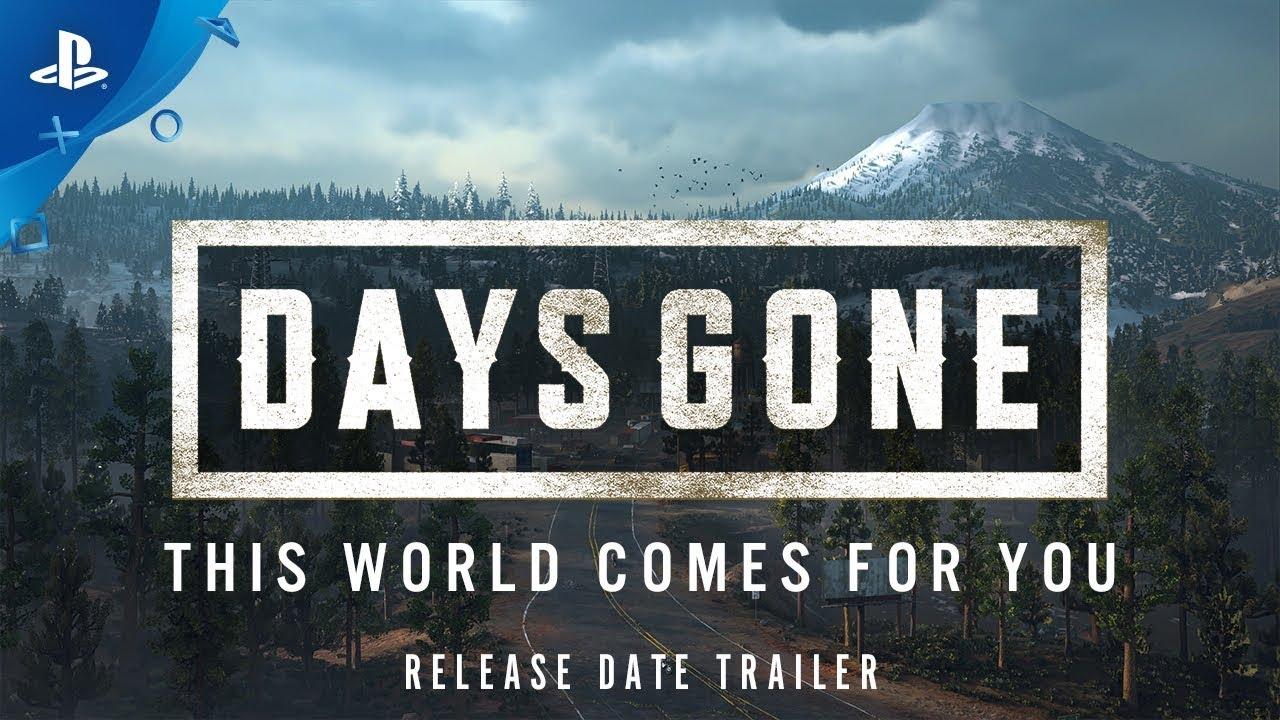 Days Gone Chega para PS4 dia 22 de Fevereiro