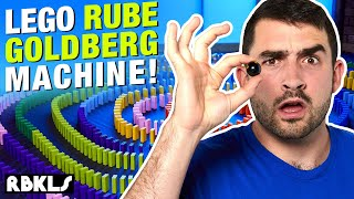 Crazy LEGO Rube Goldberg Machine - REBRICKULOUS