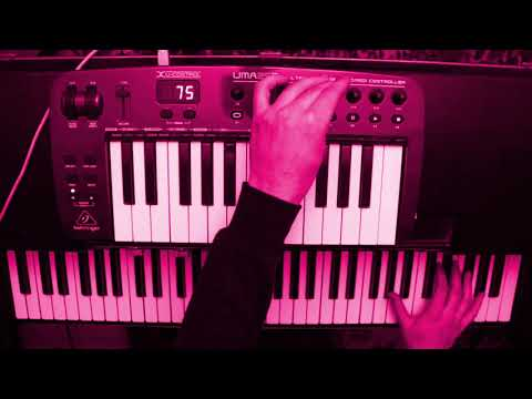 Improvisation using a wurlitzer and samples