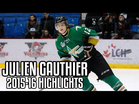 Julien Gauthier | 2015-16 Highlights | Val-d'Or Foreurs