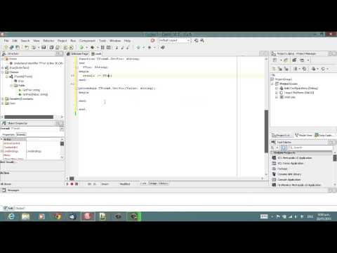Delphi Programming Tutorial #89 – Implementing Interface Shortcuts