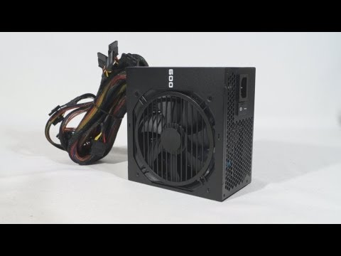 #1514 – EVGA 600B Bronze Power Supply Video Review