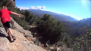 preview picture of video 'Montserrat Skyrace 15 03 2015'