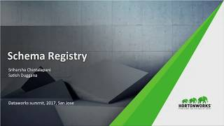 Schema Registry - Set your data free