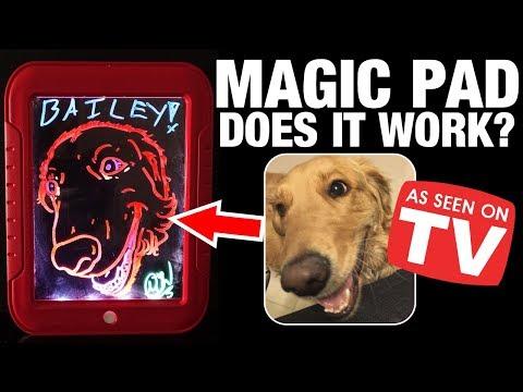 Glow Magic Pad