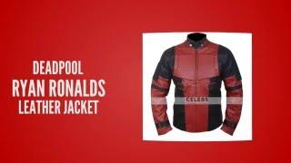 Deadpool Leather jacket | Comic Movie Deadpool Costume