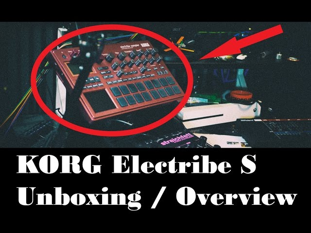 KORG Electribe Sample unboxing & Overview