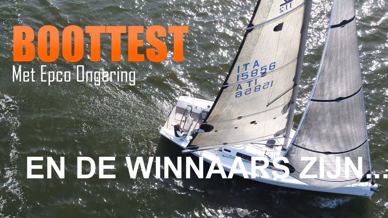 WATERSPORT-TV BOTENTEST KLASSEMENT