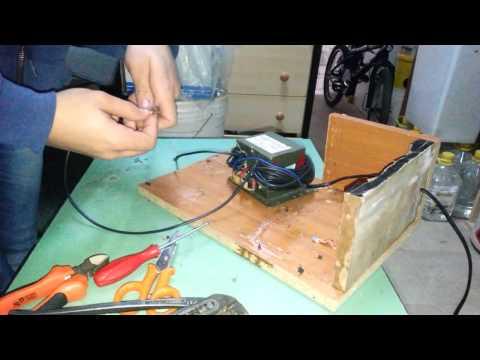 come fare una saldatrice ad elettrodo :prime prove