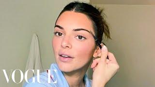 KendallJenner's Guide to DIY Face Masks and Bronzed Makeup | Beauty Secrets | Vogue