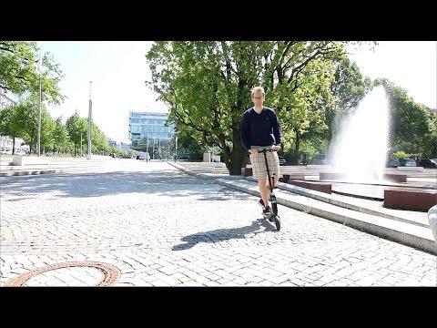 2016 CITYBUG2S Elektroscooter / E-Scooter im Test / Erfahrungsbericht in Hannover