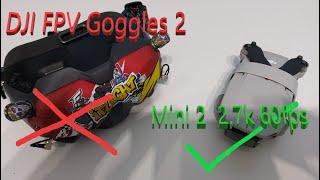 DJI FPV GOGGLES v2 ANNOUNCED AND DJI MINI 2 2.7K 60fps