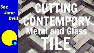 How to Cut Metal and Glass Mosaic Tile