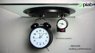 piSECURE 30min Sealing performance test