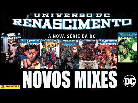 Panini anuncia os novos mixes da DC Rebirth / Renascimento - Nova Fase - Comece a ler Quadrinhos DC