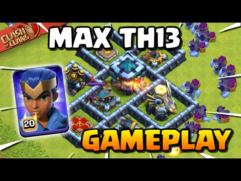 MAX TH13 GAMEPLAY - Clash of Clans Town Hall 13 Attacks   New CoC Troop Yeti