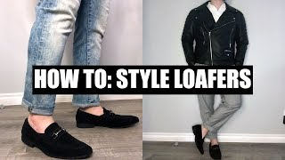 How To Style Penny Loafers - 5 Outfits With Penny Loafers Men