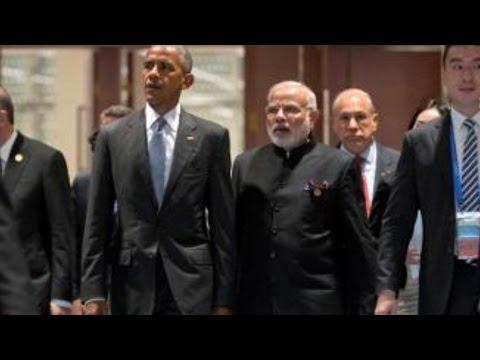 PM Modi Meets Barack Obama at G20 Summit 2016