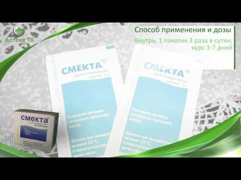 Лекарственный препарат Смекта, инструкция. Диарея, вздутие, изжога.