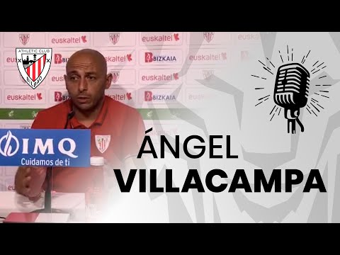 🎙 Ángel Villacampa | Athletic Club-Real Betis | post-match