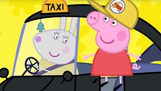 Peppa Pig Full Episodes | Peppa Pig's First Taxi Experience 🚕 Peppa Pig English Episodes