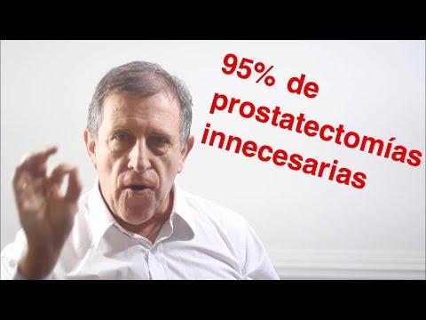 El crecimiento tumoral en el cáncer de próstata