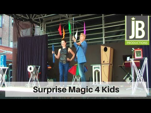 Surprise Magic Kids boeken of inhuren?