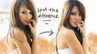 recreating early 2000's Hilary Duff photos!