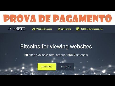 adBTC - PROVA DE PAGAMENTO!!!