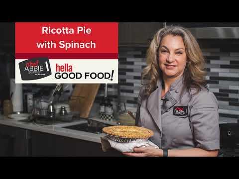 Ricotta Pie with Spinach