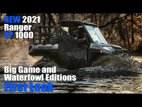 2021 Polaris Ranger XP 1000 Waterfowl Edition at Shreveport Cycles
