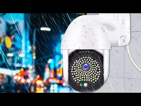 WiFi PTZ камера BESDER с мощным прожектором / WiFi PTZ camera BESDER with powerful floodlight