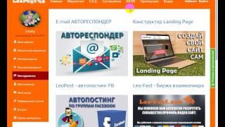 LeoPays   с чего начать |  Инструкция для новичков