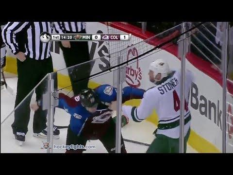 Clayton Stoner vs Cody McLeod