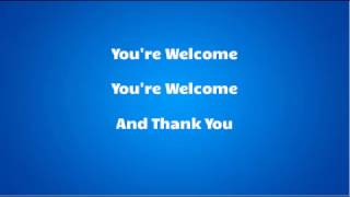 Dwayne Johnson - You're welcome Lyrics (Official mp3)(From 'Moana')