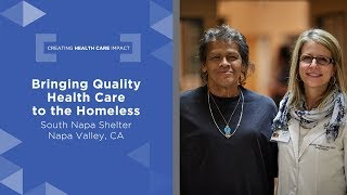 Bringing Quality Health Care to the Homeless