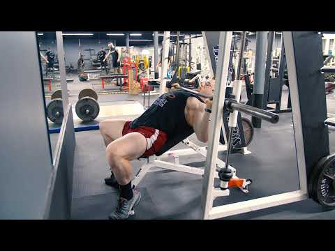 Smith Machine Narrow Grip Incline Press