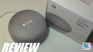 REVIEW: Google Home Mini - Smart Speaker w. Google Assistant